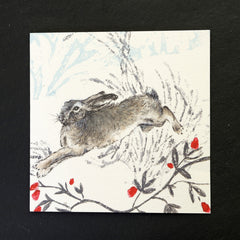 Hugo the Hare greeting card