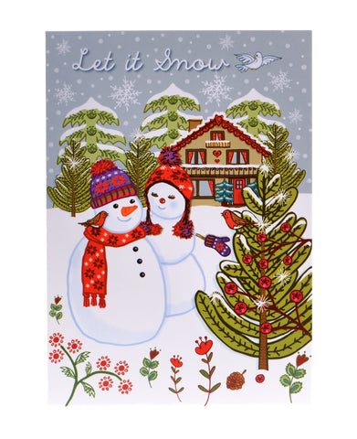 Let it Snow – Christmas Card