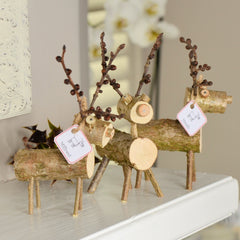 Rustic deer (available in small and medium)