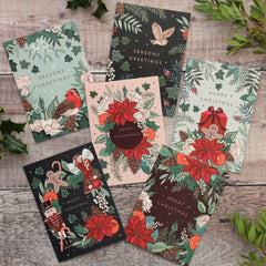 Christmas cards pack of 6