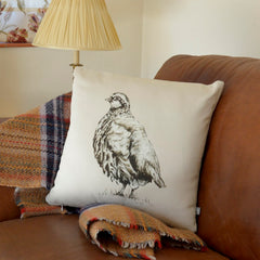 Partridge cushion