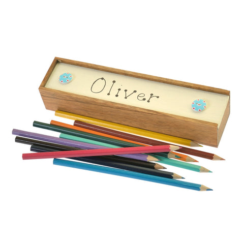 Personalised pencil boxes
