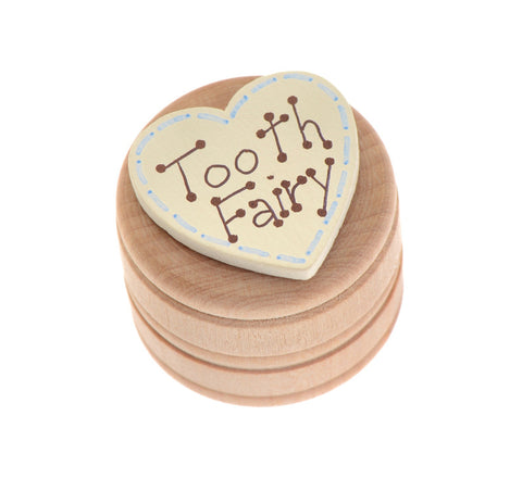 Tooth fairy box with lid