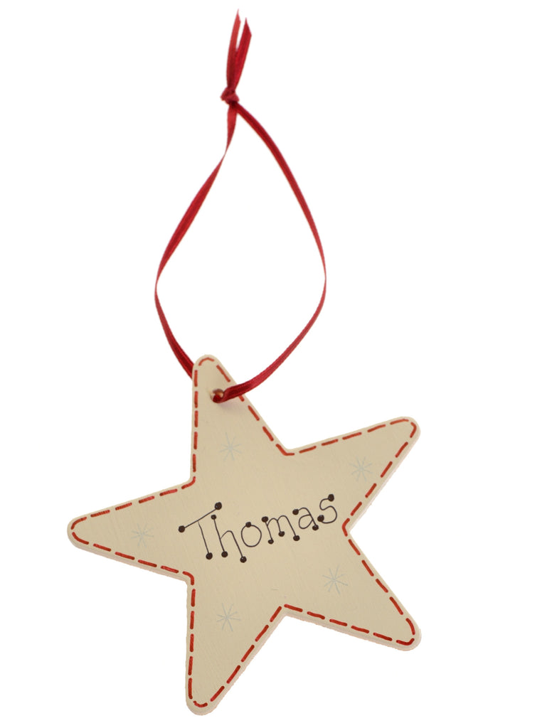 Named star present tag – personalised