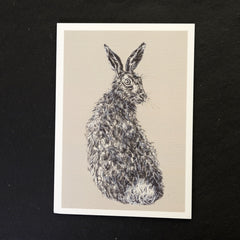 Vince the hare print