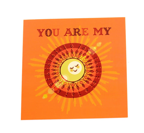My sunshine card