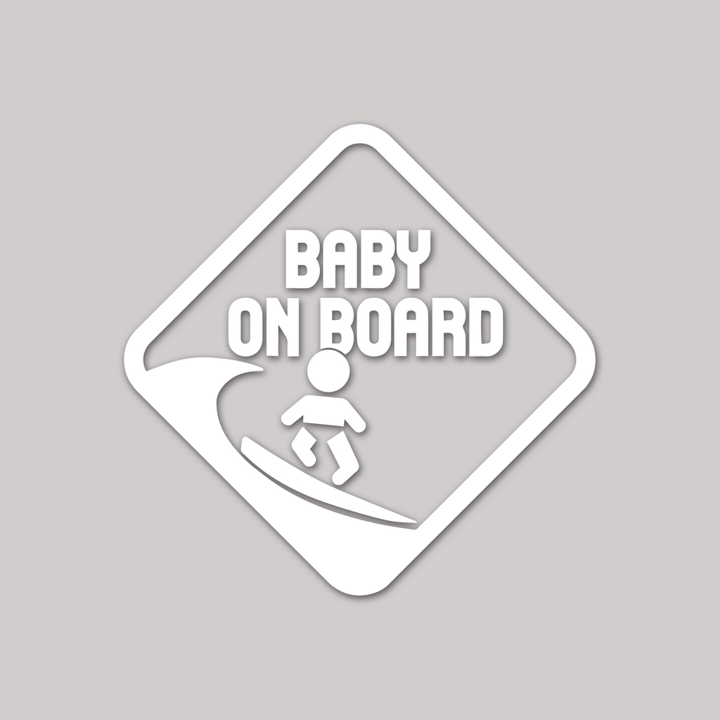 "Baby on Board ""on traffic sign style"""