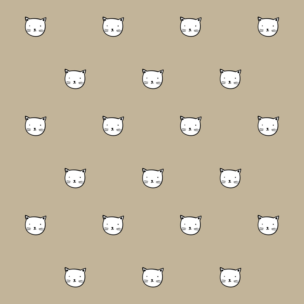 Kitty Kat Characters Wall Decals
