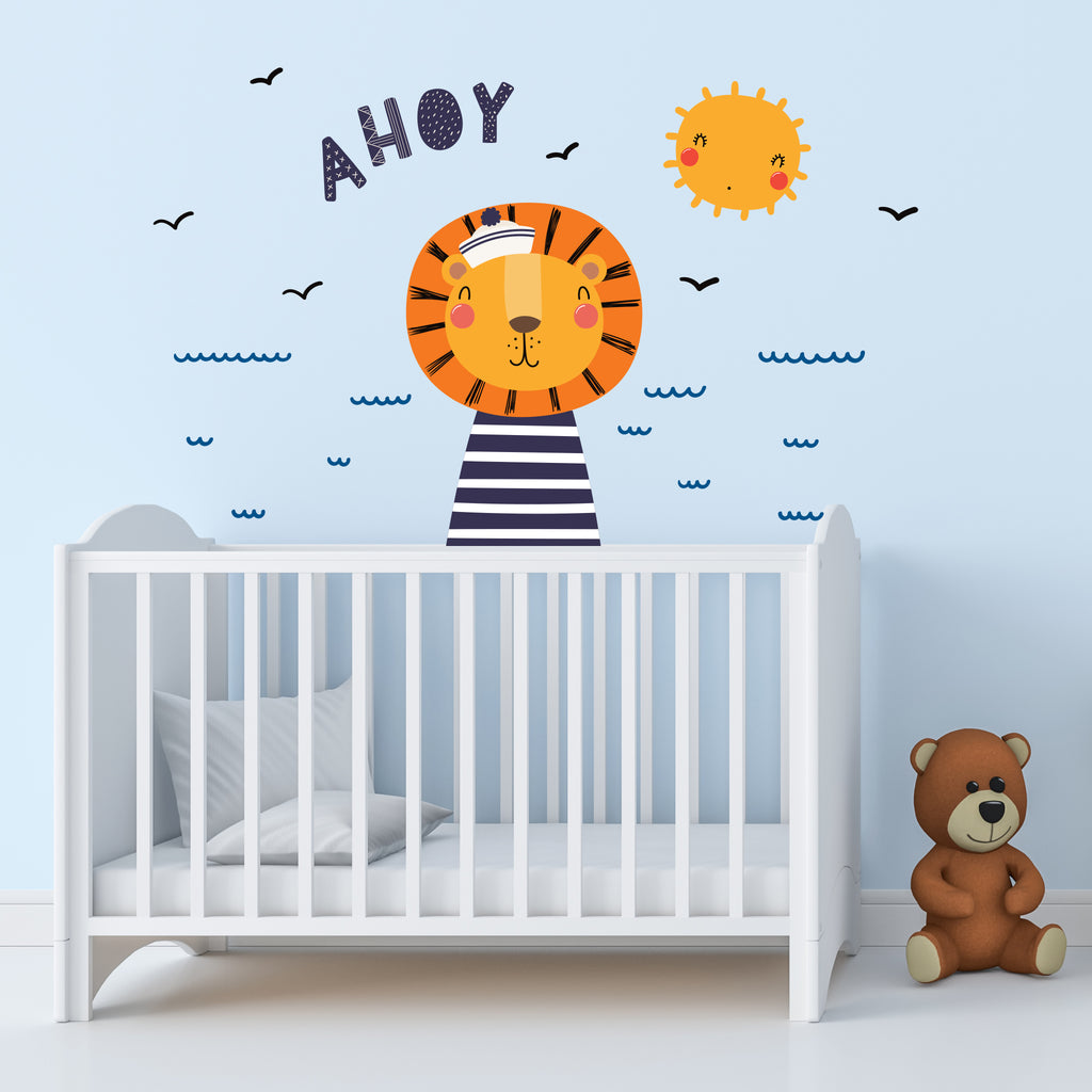 Lion Sailor! Wall Decal