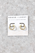 14mm Pave Hoops