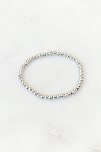 Small Simple Beaded Bracelet