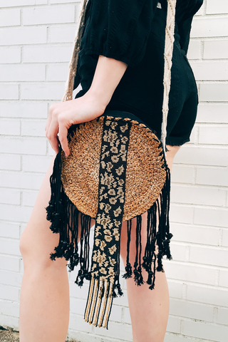 Boho Crossbody With Beading