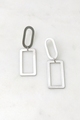 Squared Shapes Statement Earrings