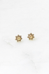 Smiley Flower Studs