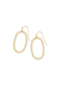 Elle Open Frame Earrings