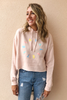 Lavallette Rainbow Circle Cropped Hoodie