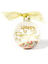 SH Happy Everything Glass Ornament