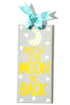 SH I Love You To The Moon and Back Door Plaque