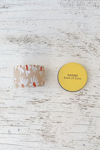 Sunny Kind Of Love Mini Candle
