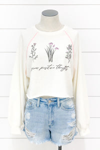 Positive Thoughts Raglan