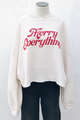 Merry Everything Brushed Crew Neck