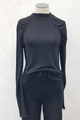 Love Like Ruched Mock Neck