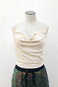 Angelina Cowl Neck Top