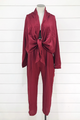 Out All Night Satin Jumpsuit