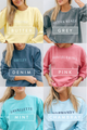 SH Shore Town Sweatshirt - Lavallette