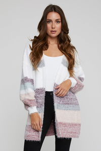 Ashworth Striped Cardigan
