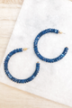 Bali Beaded Hoops