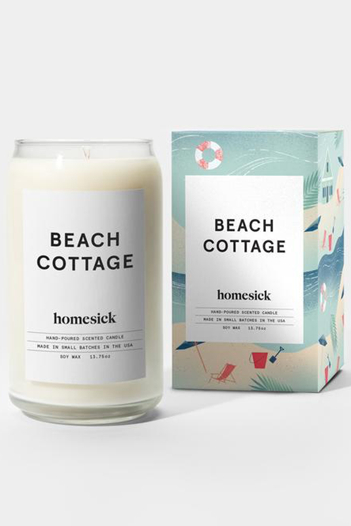 HomeSick Beach Cottage Candle - House of Lucky