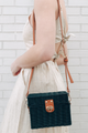Straw Box Crossbody Purse