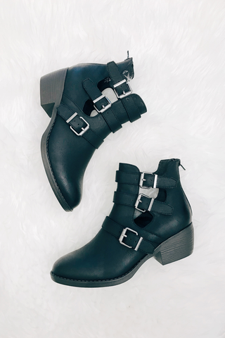 Acre Buckle Bootie