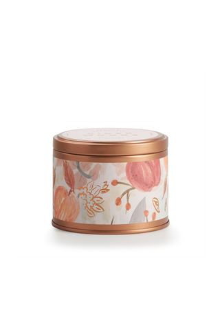 Cider Woods Autumnal Tin Candle