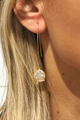 Gold Gem Earring