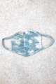 Blue Cloud Tie Dye Mask