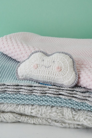Cloud Crochet Rattle - House of Lucky
