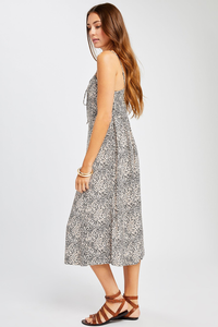 Clyde Lace Up Slip Dress