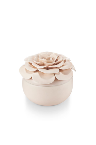Coconut Milk Mango Flower Candle - House of Lucky
