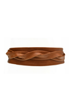Simple Leather Wrap Belt - House of Lucky