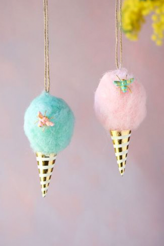 Cotton Candy Ornament - House of Lucky