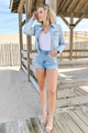 Dazzle Trim Shorts