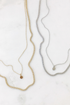 Delicate Cuban Chain Disc Necklace