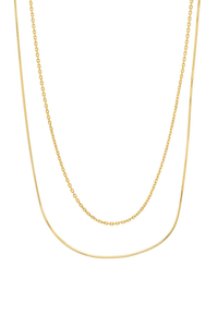 GV Double Strand Mix Chain Necklace