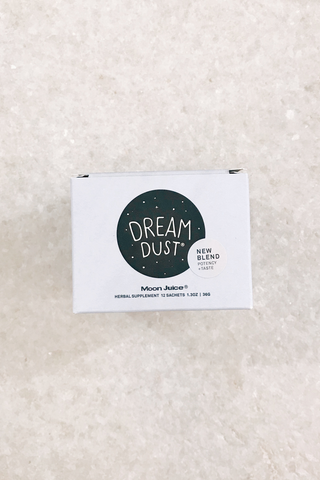 Moon Juice Dream Dust Satchet Box
