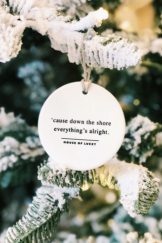 Down the Shore Ornament