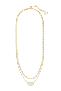 Elisa Multi Strand Necklace