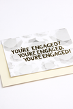 Diamond Engagement Card