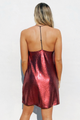 Fine Wine Sequin Dress